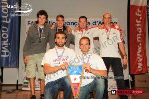 Podium Championnat de France mer 2015